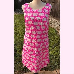 Lilly Pulitzer Tusk In Sun Size 14 Elephant Dress